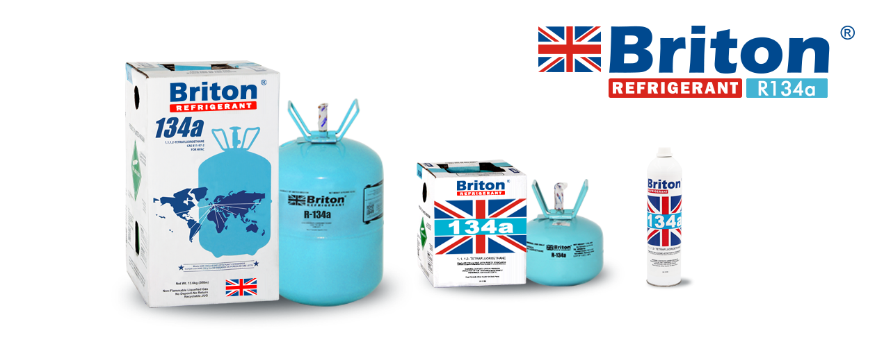 Briton R-134a Refrigerant Gas