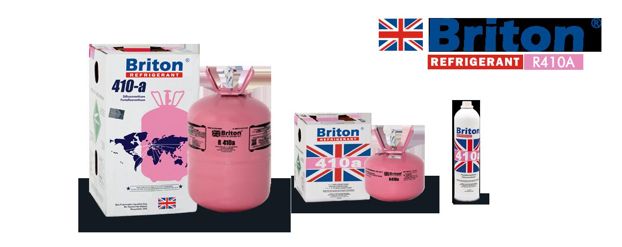 Briton R-410a Refrigerant Gas