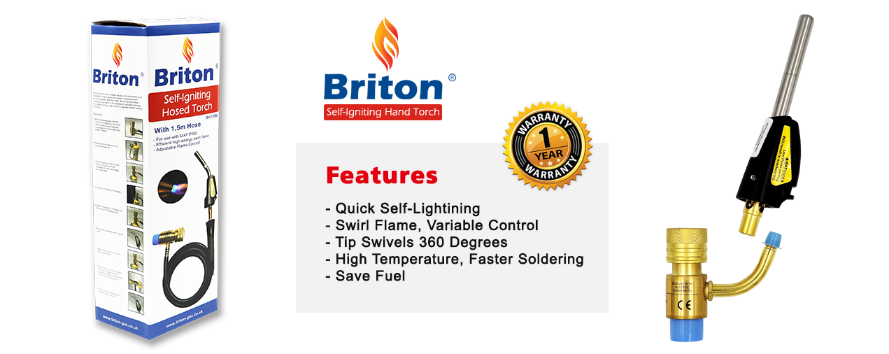 Briton Self Igniting Hand Torch