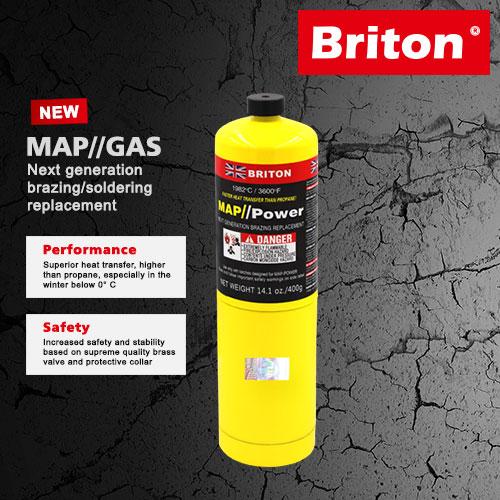 Briton Mapp Gas United Kingdom
