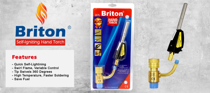 Briton Self-Igniting Hand Torch