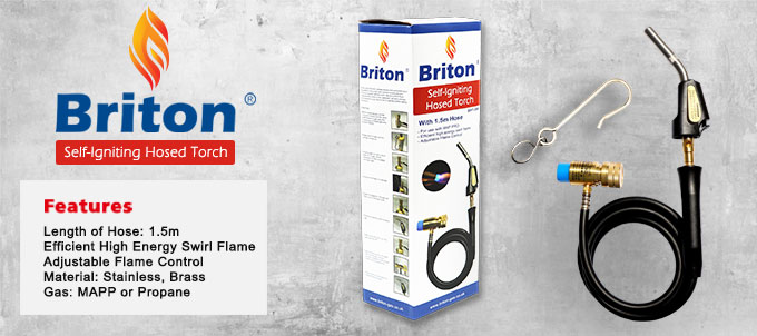 Briton Self-Igniting Hosed Torch