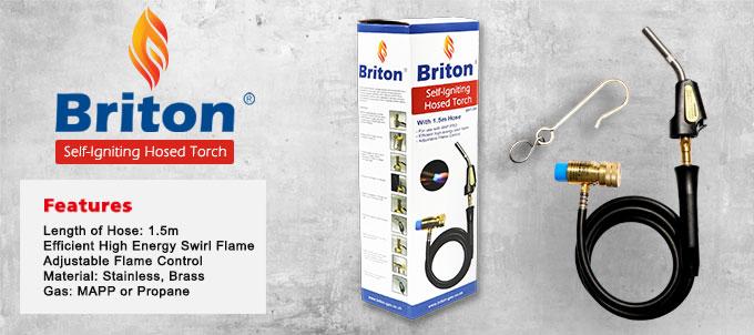 Briton Self-Igniting Hosed Torch