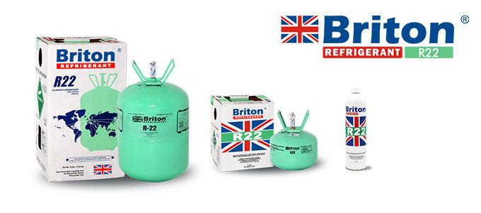 Briton R22 Refrigerant Gas