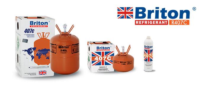 Briton Refrigerant R407c Gas
